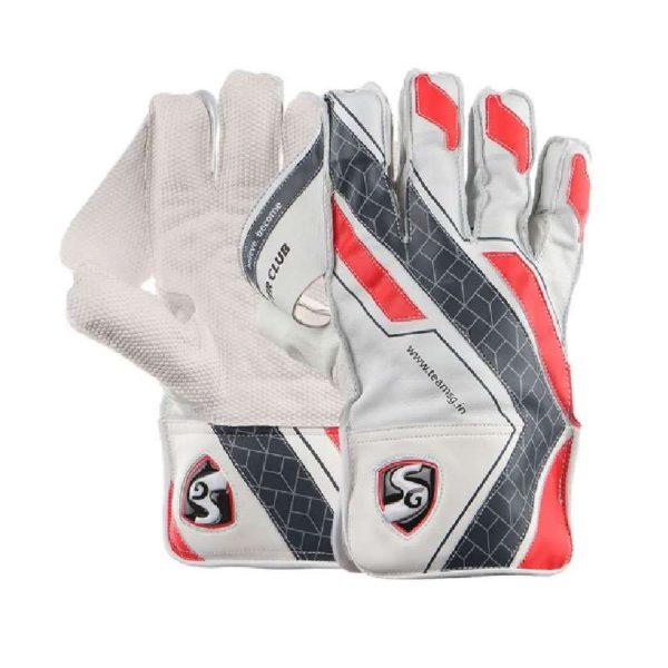 SG Super Club Wicket Keeping Gloves